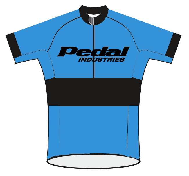 PEDAL Shop kit SPEED JERSEY SHORT SLEEVE PRIMARY BLUE