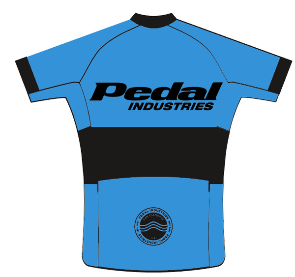 Ladies PEDAL Shop kit SPEED JERSEY SHORT SLEEVE PRIMARY BLUE