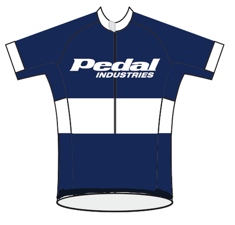 Ladies PEDAL Shop kit SPEED JERSEY SHORT SLEEVE NAVY