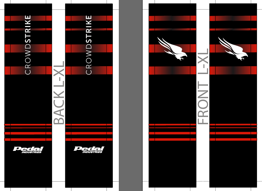 CROWDSTRIKE SUBLIMATED SOCK