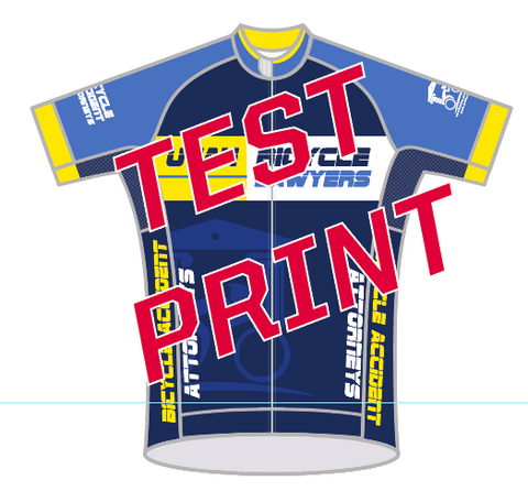 2017 Utah Bike Lawyers PRO JERSEY TEST PRINT