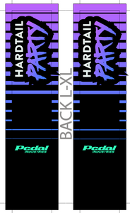 LOGO HARDTAIL PARTY SUBLIMATED SOCK