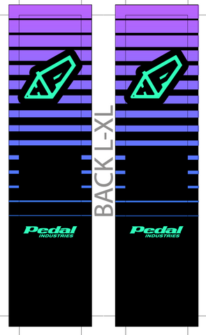 HP HARDTAIL PARTY SUBLIMATED SOCK
