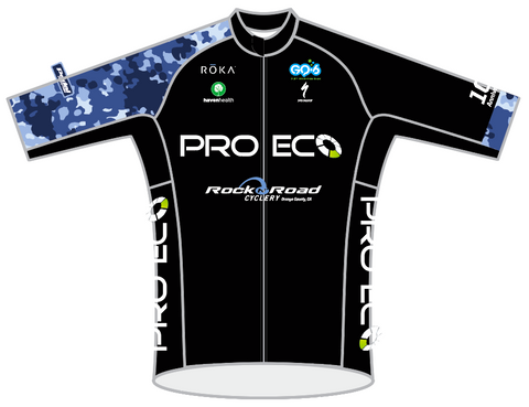 LADIES BLACK PRO ECO PRO JERSEY