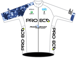 LADIES WHITE PRO ECO PRO JERSEY