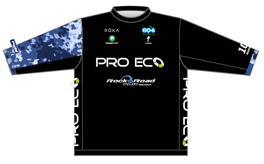 LADIES BLACK PRO ECO MTB JERSEY