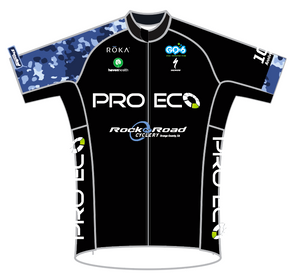 BLACK PRO ECO SPEED JERSEY SHORT SLEEVE MENS AND LADIES