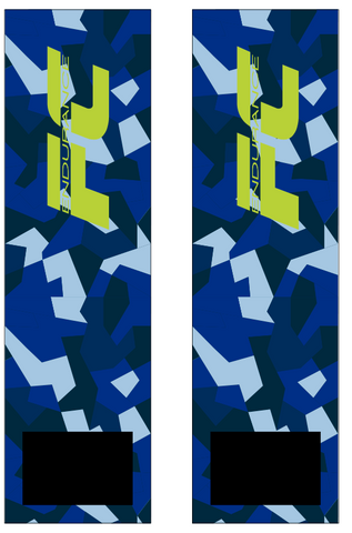 FC ENDURANCE 2021 BLUE CAMO SUBLIMATED SOCK