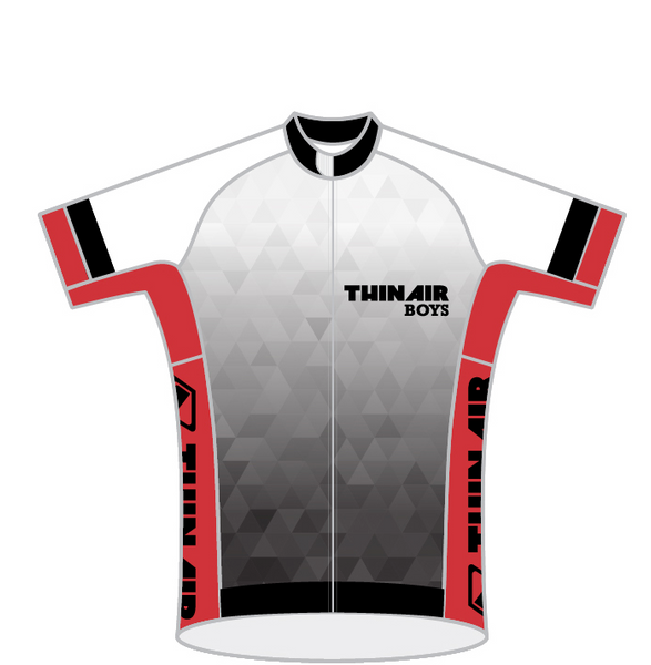 THIN AIR BOYS RED SPEED JERSEY SHORT SLEEVE
