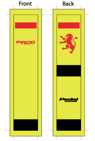 PACC '19 HI-VIZ SUBLIMATED SOCK