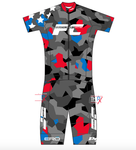 "FC Endurance 06-2019 WOMENS SPEED SUIT(Tri Pad) - short leg (2"")"