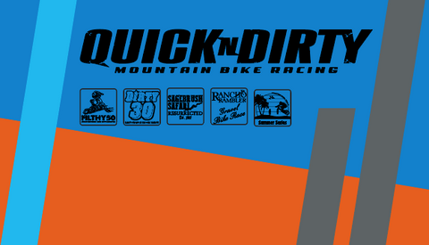 Quick n Dirty 07-2019 BLUE RACEDAY BAG