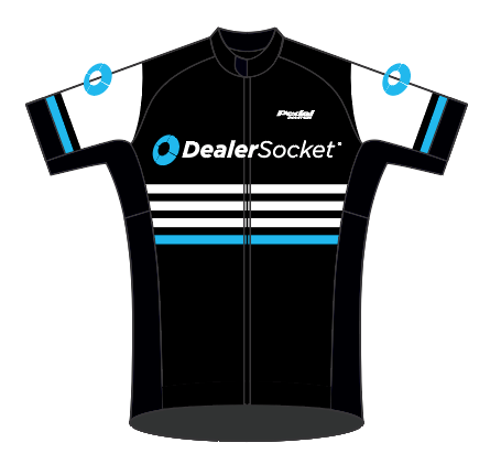 Dealer Socket 07-2019 BLACK SPEED JERSEY SHORT SLEEVE