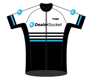 Dealer Socket 07-2019 WHITE SPEED JERSEY SHORT SLEEVE