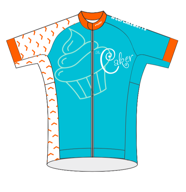 Caker Cupcake Watts 08-2019 SPEED JERSEY HALF SLEEVE