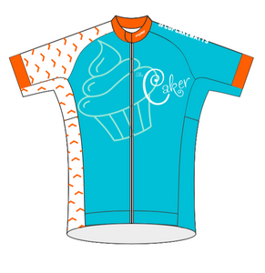 Caker Cupcake Watts 08-2019 LADIES SPEED JERSEY HALF SLEEVE