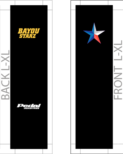 Bayou Stars 09-2019 SUBLIMATED SOCK