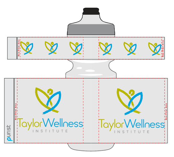 Taylor Wellness 10-2019 50 Purist 26 oz Clear bottles - includes shipping