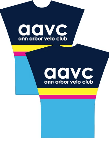 Ann Arbor Velo Club 10-2019 CHANGING PONCHO