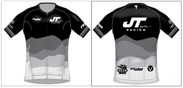 JT Black SPEED JERSEY HALF SLEEVE NO COLLAR