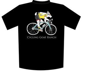 Cycling Goat Ranch SUBLIMATED T-SHIRT (Tech T)