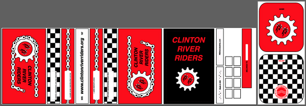 Clinton River Riders  RACEDAY BAG