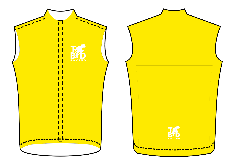 TBD Yellow/White Race VEST