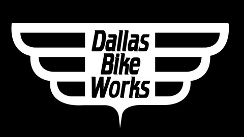 2020-01 Dallas Bike Works BLACK & WHITE  RACEDAY BAG™
