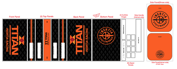 Titan Inertia Racing  RACEDAY BAG™