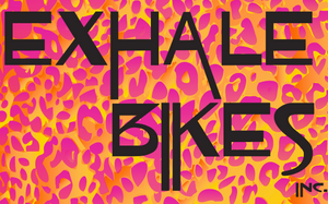 Exhale Bikes - Leopard Print -  RACEDAY BAG™