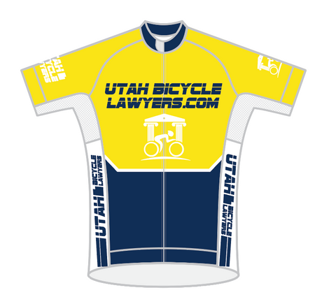 Utah Bicycle Lawyers 2020-03 SPEED JERSEY SHORT SLEEVE