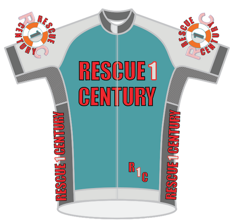 MENS Rescue 1 Century 2020-03 SPEED JERSEY SHORT SLEEVE