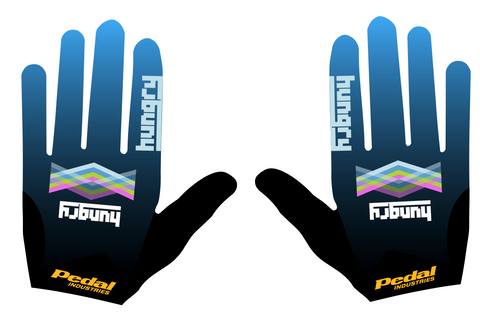 HUNGRY SUPERLIGHT FULL-FINGER GLOVES (25 PAIRS)