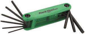 BikeShop - Park Tool TWS-2 Folding Torx Wrench Set