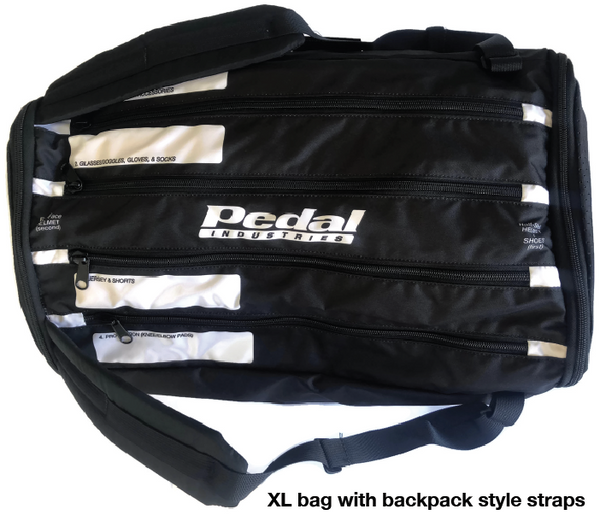 RaceDay Bag BLK - Holds Everything But The Bike