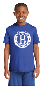 UTAH BOOM YOUTH T CIRCLE LOGO