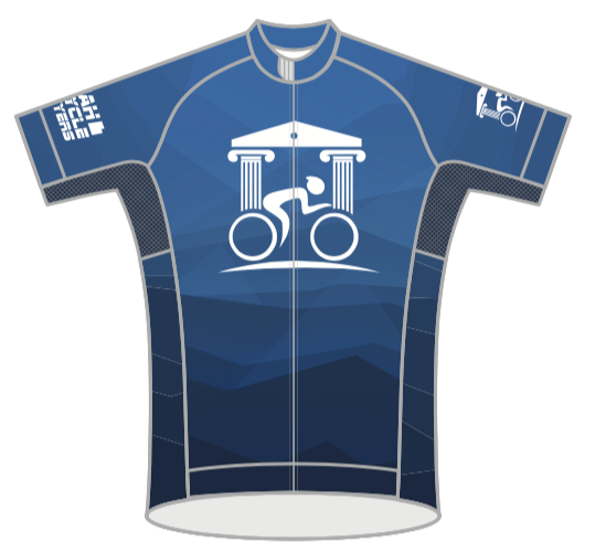UTAH BICYCLE LAWYERS '18 BLUE RACE JERSEY