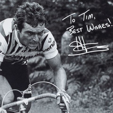 "Bernard Hinault, ""Attack of the Badger"", Personally Inscribed, Limited Edition of 99"