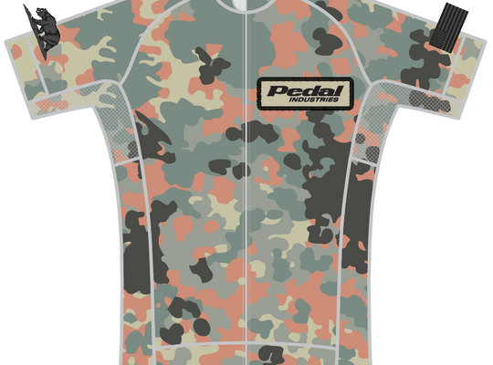 Military Camo SPEED JERSEY SHORT SLEEVE