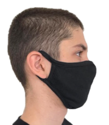 Cotton Adult Face Mask - 5 Pack