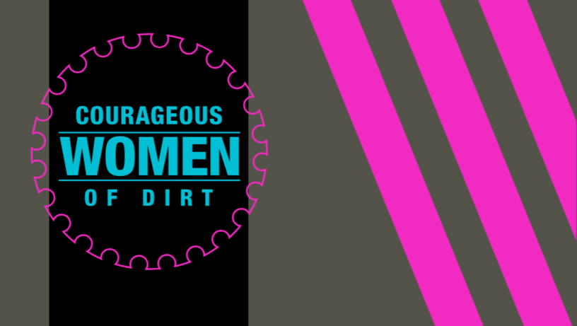 Courageous Women of Dirt '19 RACEDAY BAG - ships in about 3 weeks