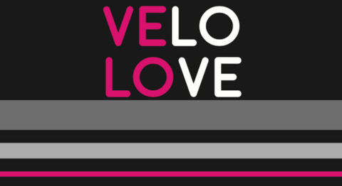 Velo Love RACEDAY BAG - ships in about 3 weeks - email your name with your order confirmation for printing