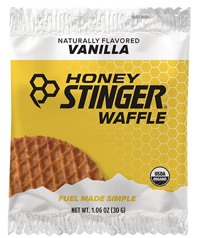 Honey Stinger Organic Waffles - VANILLA