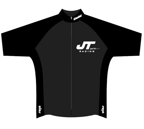 JT Racing SPEED JERSEY 1/2 SLEEVE - BLACK