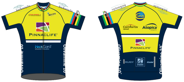 Radsport '19 RACE JERSEY Short Sleeve  - World Champ - Ships In About 4 weeks