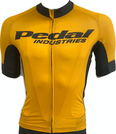 PEDAL Gold JERSEY SHORT SLEEVE - Ladies