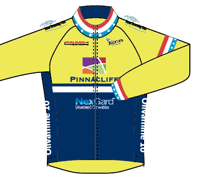 RADSPORT '19 LONG SLEEVE RACE JERSEY - NATIONAL CHAMP - SHIPS IN ABOUT 4 WEEKS