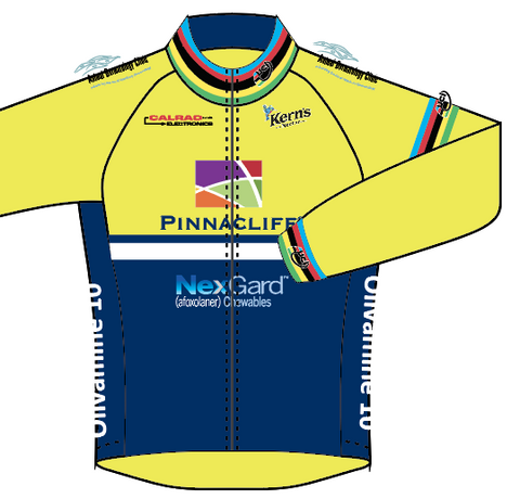 RADSPORT '19 LONG SLEEVE JERSEY - WORLD CHAMP - SHIPS IN ABOUT 4 WEEKS