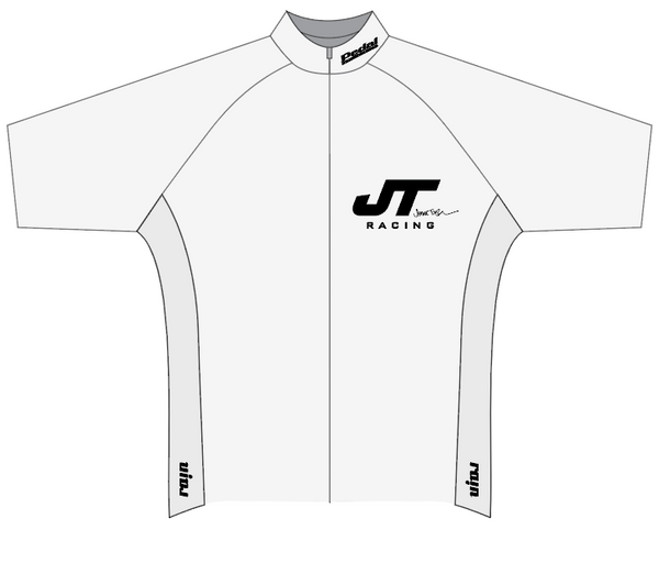 JT Racing SPEED JERSEY 1/2 SLEEVE - WHITE