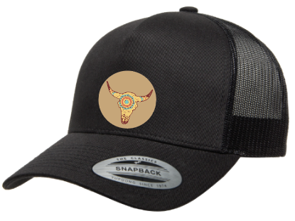 NCOW '19 Trucker Curved Bill Adjustable - ships in about 3 weeks